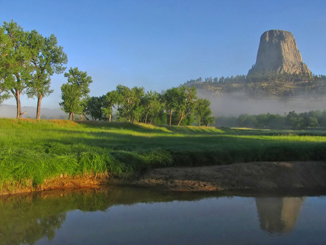Devils Tower National Monument, Hulett, WY