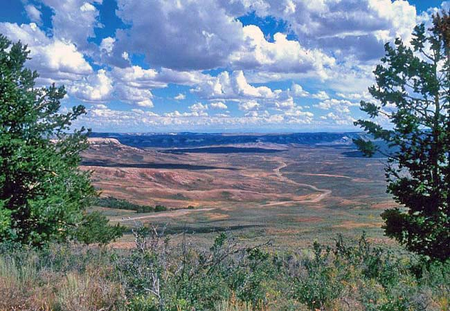 Fossil Butte National Monument - Kemmerer, WY
