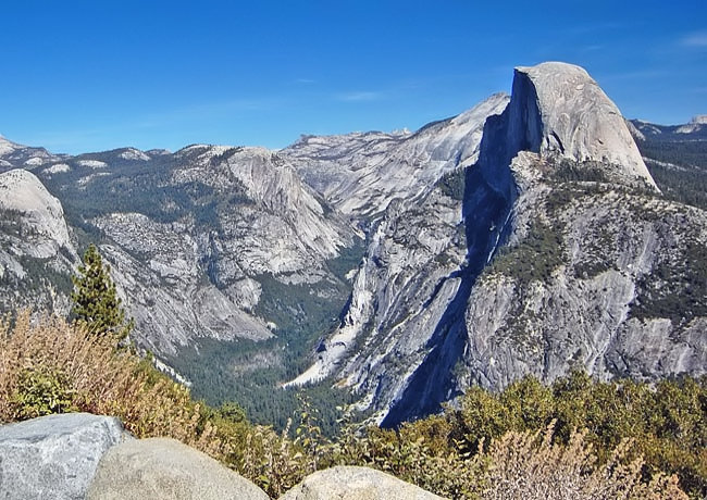 Half Dome - View from Glacier Point, Yosemite National Park, California