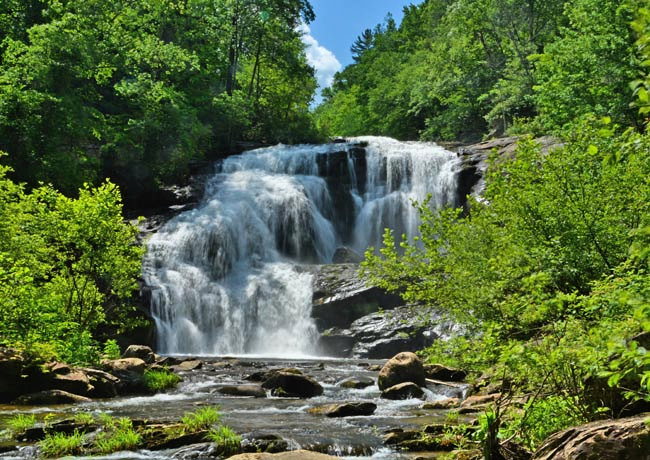 Bald River Falls - Cherohala Skyway, Tennessee