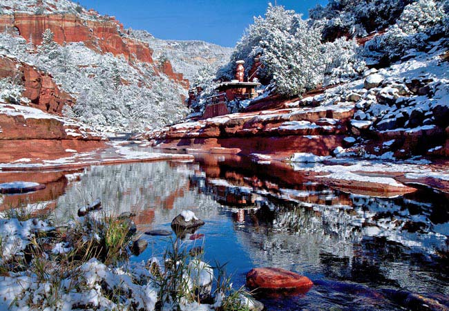 Oak Creek Canyon at Slide Rock State Park - Sedona, Arizona