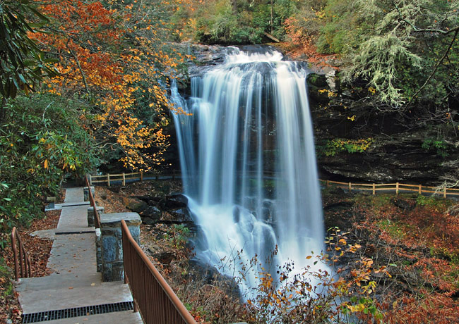 Dry Falls - Highlands, North Carolina