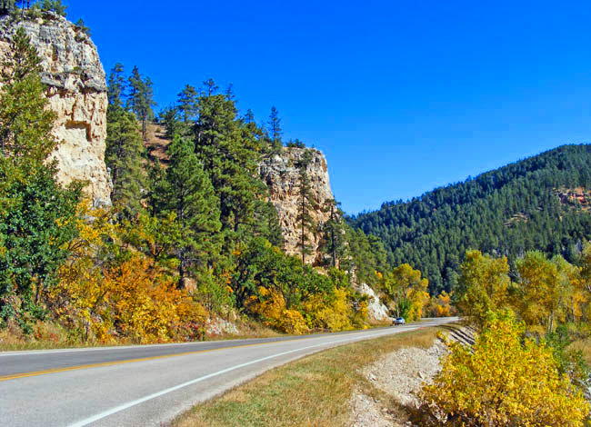 Spearfish Canyon - Spearfish, South Dakota