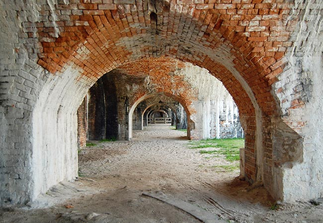 Fort Pickens - Gulf Islands National Seashore, Florida
