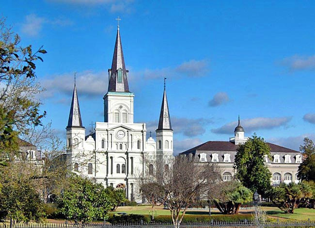 St. Louis Cathedral - Jackson Square, New Orleans, Louisiana