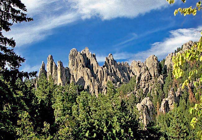 Cathedral Spires - Peter Norbeck Scenic Byway, South Dakota