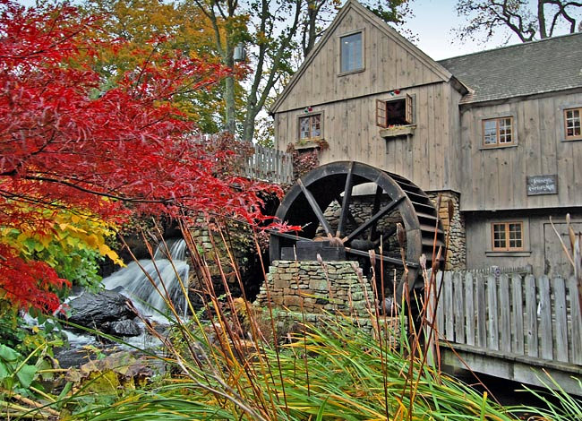 Jenney Grist Mill - Plymouth, Massachusetts
