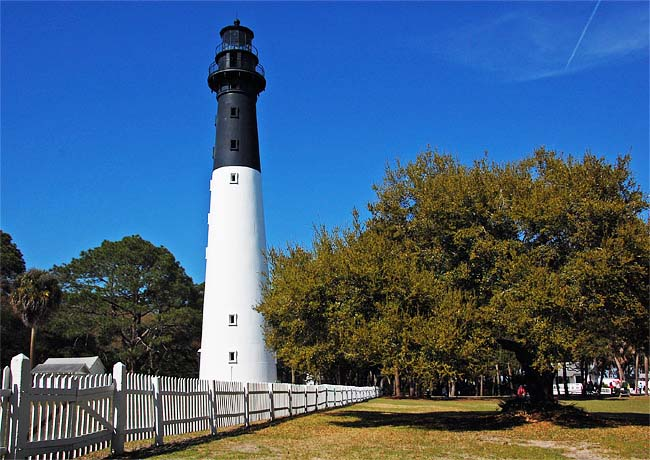 Hunting Island Lighthouse - Hunting Island State Park, South Carolina