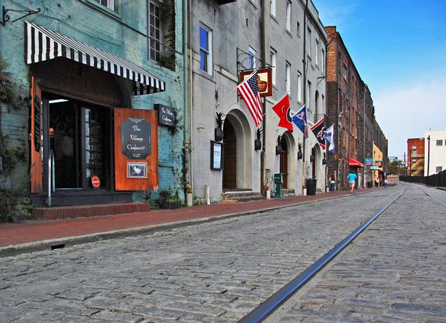 River Street Savannah Georgia