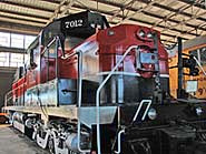 Arkansas Railroad Museum - Locomotive 7012