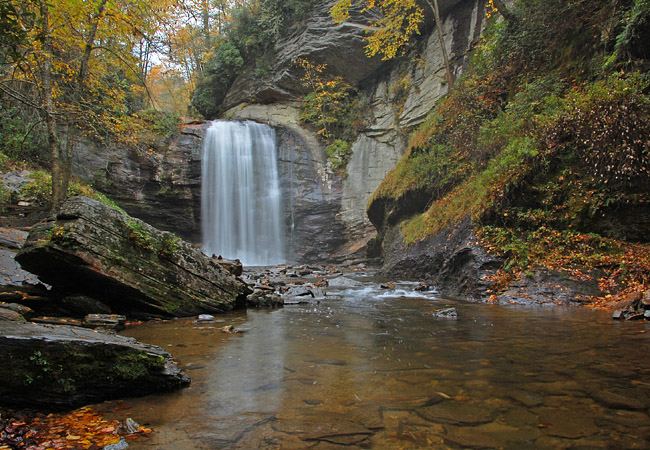 Looking Glass Falls - Pisgah National Forest, NC