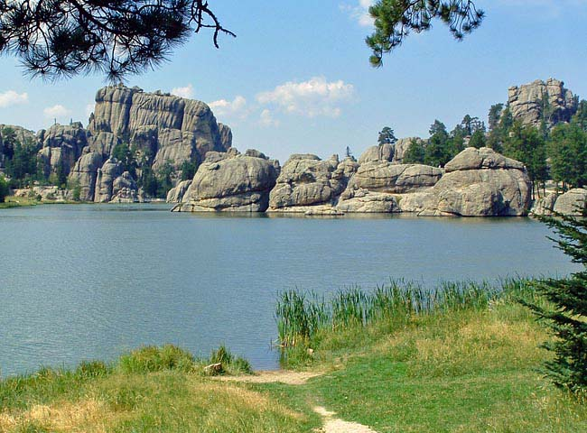 Sylvan Lake (Black Hills) - Custer, South Dakota