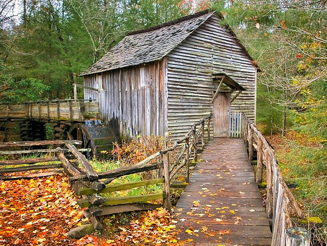 Cable Mill - Cades Cove, Great Smoky Mountain National Park, TN