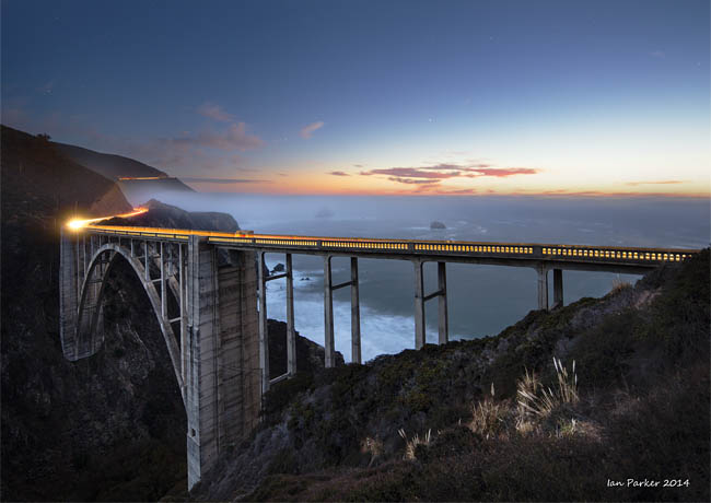 Bixby Bridge - Big Sur Scenic Byway, California