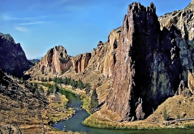 Crooked River - Smith Rock State Park, Terrebonne, Oregon