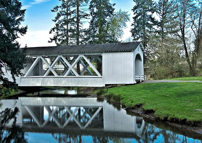 Jordan Bridge - Stayton, Oregon