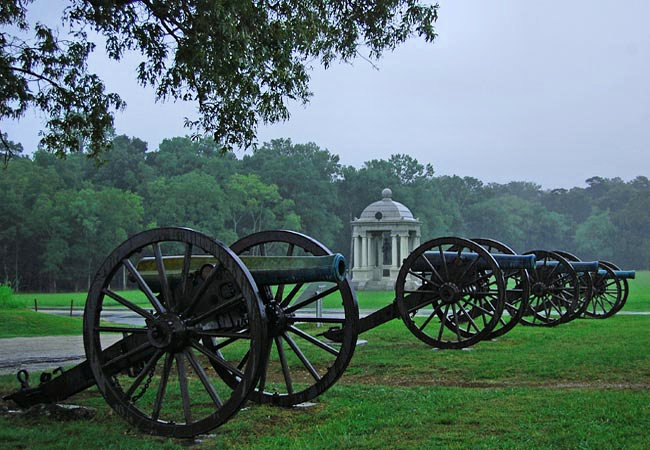 Chickamauga Military Park - Fort Oglethorpe, Georgia