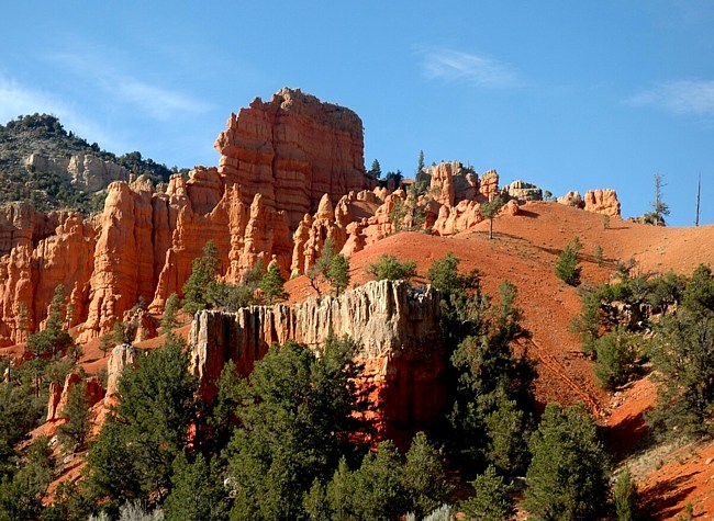 Red Canyon in the Dixie National Forest - Utah