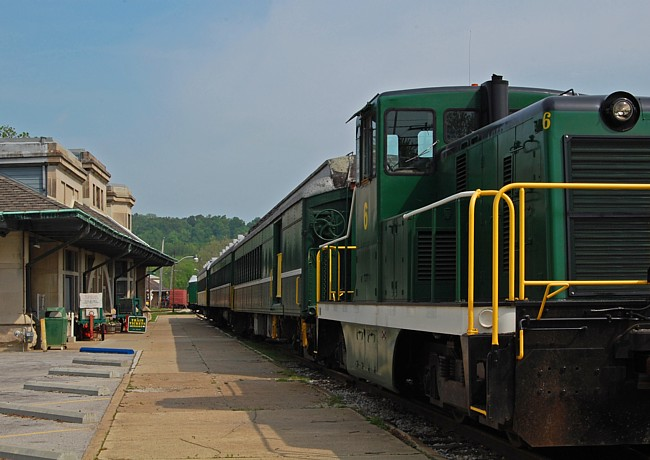 Scenic Railroad - French Lick, Indiana
