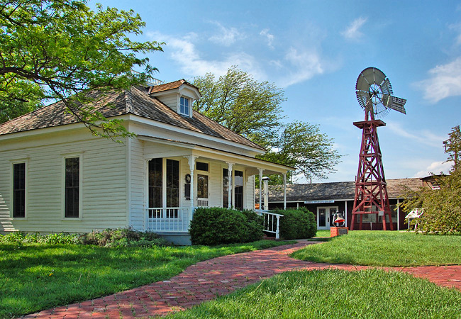 The Square House Museum - Panhandle, Texas