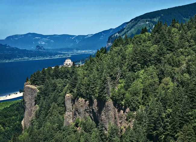 Crown Point Vista House - Columbia River Gorge, OR