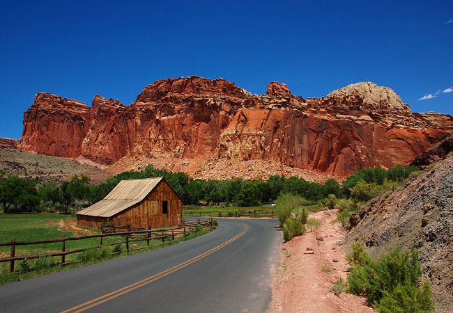 Gifford Barn - Capitol Reef National Park, UT