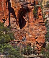 Alien Rock -  Oak Creek Canyon Trail, Sedona, AZ