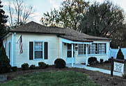 Andy Griffith's boyhood home - Mount Airy