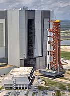 Apollo 11 Rollout - Vehicle Assembly Building, KSC, Florida