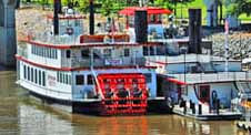 Arkansas Queen (since departed) - North Shore Riverwalk, Little Rock