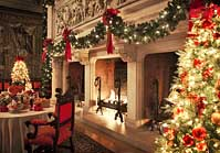 Banquet Hall Fireplace - Biltmore House, Asheville, North Carolina