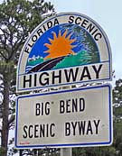 Big Bend Scenic Byway Sign