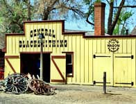 Blacksmith Shop - Old Cowtown Museum, Wichita, Kansas