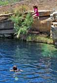 Blue Hole Swimmers - Santa Rosa, New Mexico