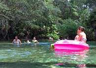 Blue Spring Tubing - Blue Spring State Park, Orange City, Florida