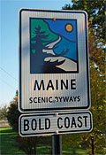 Bold Coast Byway Sign