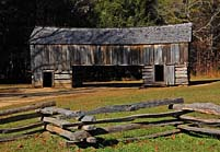 Cades Cove Barn - Cades Cove, Great Smoky Mountains National Park, TN
