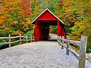 Head on view - Campbell's Covered Bridge Historic Site, South Carolina