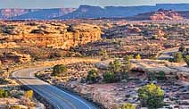 Canyonlands Road - Island in the Sky, Moab, Utah