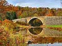 Casselman Bridge Reflectiomn
