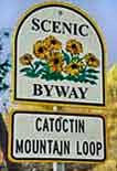 Catoctin Byway Sign
