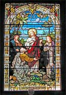Largest Stained Glass Window - Christ Church Frederica - St. Simons Island, Georgia