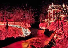 Clifton Mill Holiday Light Show