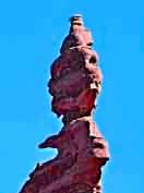 Corkscrew Spire - Fisher Towers Recreation Site, Moab, Utah