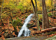 Lower Crabtree Falls - George Washington National Forest, Virginia