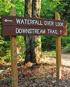Well Marked Trails - Cummins Falls State Park, Tennessee