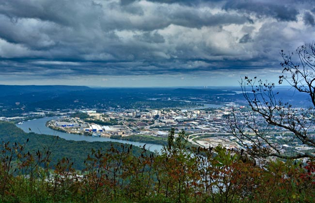 Lookout mountain tennessee point park overlook chatanooga tennessee sciox Gallery