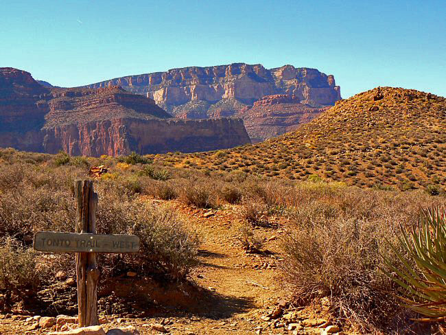 Tonto Trail West - Grand Canyon