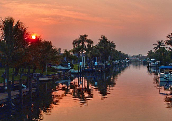 Cape Coral Waterway