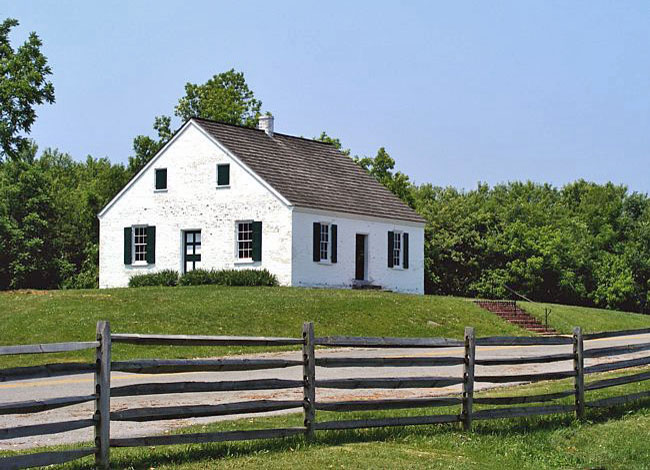 Dunker Church - Antietam National Battlefield, Sharpsburg, Maryland
